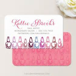 nail tech business cards 25 best ideas about salon business cards on