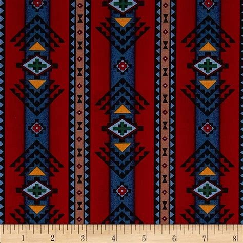 aztec print upholstery fabric object moved