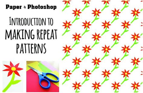 repeat pattern generator paper photoshop introduction to repeat pattern making