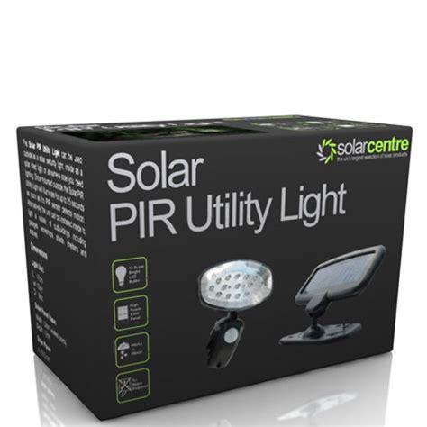 solar pir utility light solar pir utility light homeware zavvi