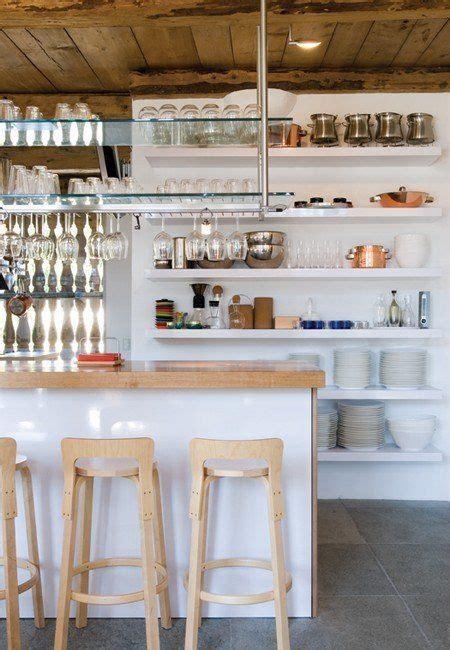 Kitchen Ceiling Shelves Go Big Floor To Ceiling Kitchen Shelves