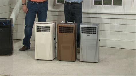 Haier 10,000 BTU Portable Air Conditioner with Remote on ... Portable Air Conditioner
