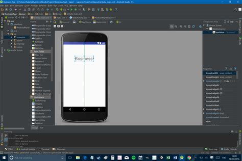 android textsize how to build and use a basic android app for your business vondroid community