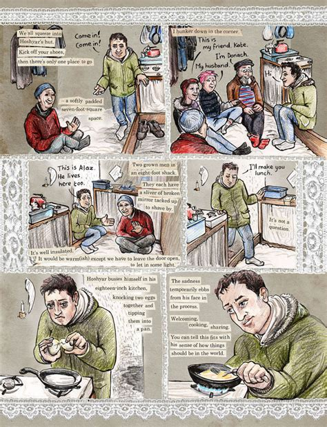 threads from the refugee threads from the refugee crisis powerful graphic journalism from kate evans shines an