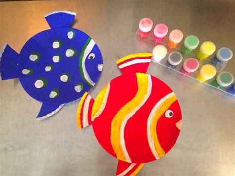 How To Make Fish Out Of Paper Plates - 220 ber 1 000 ideen zu pappteller fisch auf