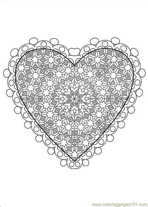 mandala coloring pages valentines difficult level mandala coloring pages free printable