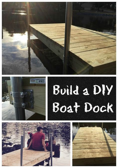 boat dock diy build a diy boat dock diy pinterest boat dock