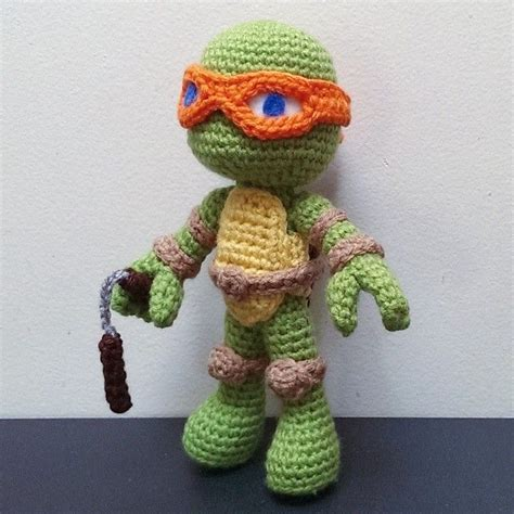 crochet pattern ninja turtles 25 best ideas about crochet ninja turtle on pinterest