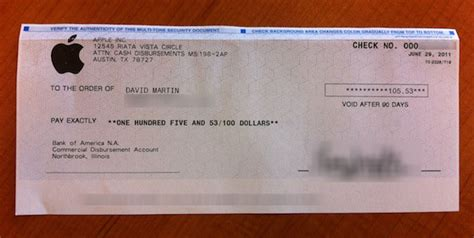 apple begins issuing mobileme refund checks cha ching