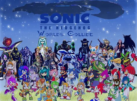 when worlds collide the collide series books sonic the hedgehog worlds collide complete cast by