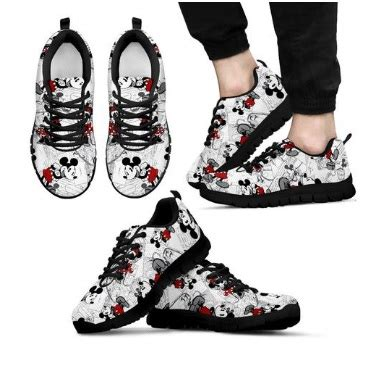 Disney Mickey Shoes 5 mickey and minnie shoe designs now on sale at fluffykicks
