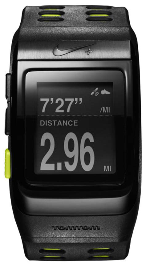 nike sportwatch gps powered by tomtom black