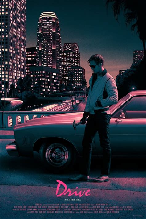 Drive Poster | mondo kicks off 2017 with stunning new prints for drive
