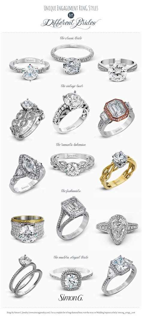 wedding rings vintage style simon g engagement ring styles for every us236