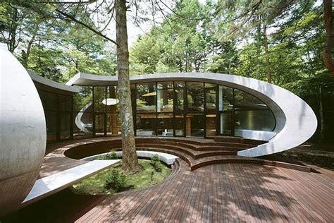 Allen Home Interiors moderne architektur organische japanische residenz