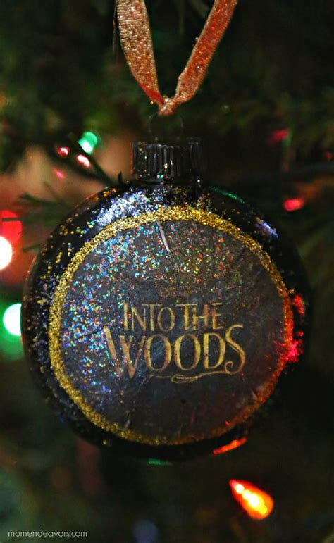 the christmas ornament cast disney s into the woods diy ornament