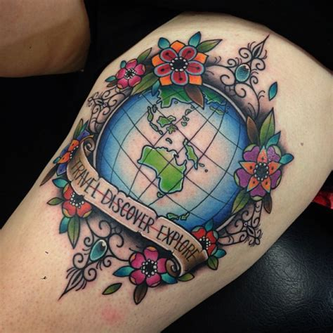 planet earth tattoo designs earth tattoos designs ideas and meaning tattoos for you