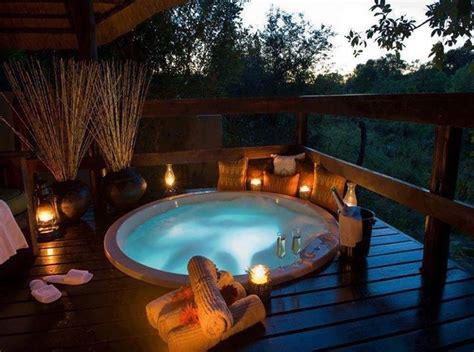 romantic bathtubs sunken hot tub hot tubs and decks on pinterest