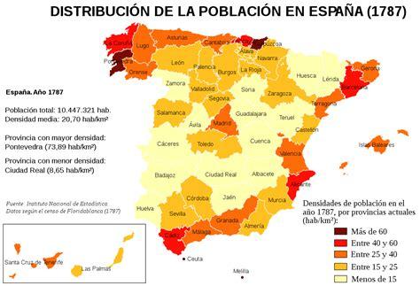 demograf a de espa a wikipedia la enciclopedia libre censo de floridablanca wikipedia la enciclopedia libre