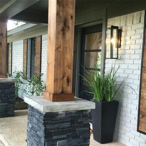 porch posts and columns hgtv fixer upper facades and season 3 on pinterest