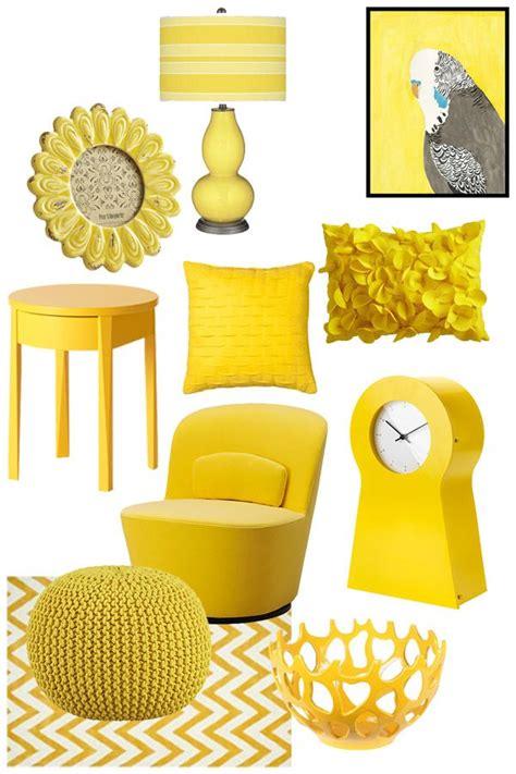yellow home decor marceladickcom