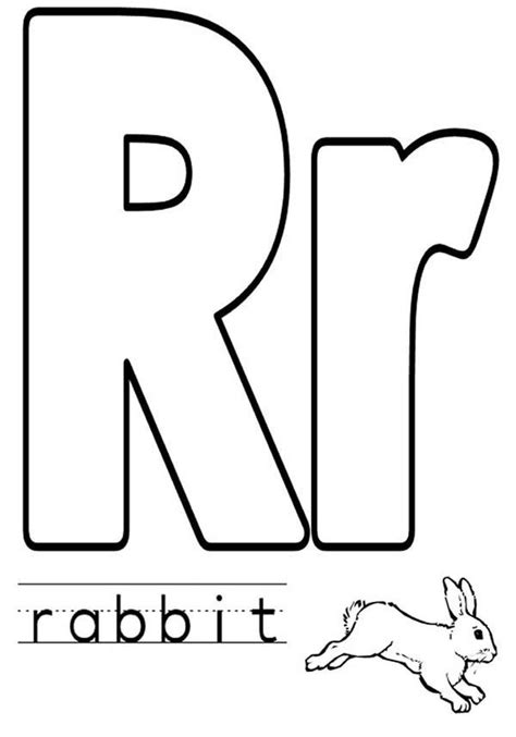 Lowercase R Coloring Pages by Letters Worksheets 187 And Lower Letters