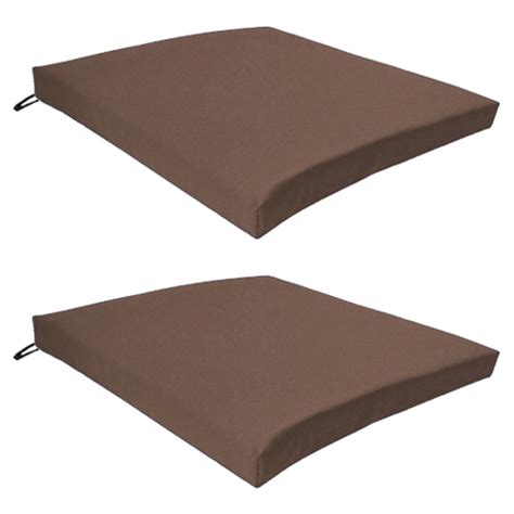 Patio Furniture Pads by Multipacks Outdoor Waterproof Chair Pads Cushions Only