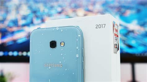 Samsung A5 Warna Biru Unboxing Samsung Galaxy A7 2017 Indonesia Warna Blue