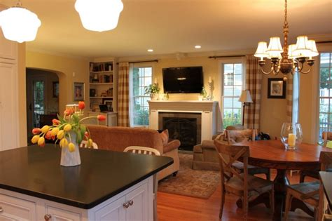 how to decorate an open living room and kitchen beautiful how to decorate an open living room florist home and design