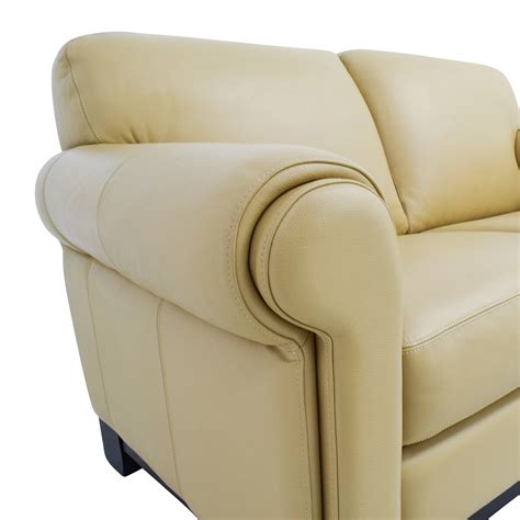 beige sofa and loveseat 78 off chateau d ax chateau d ax beige leather two seat