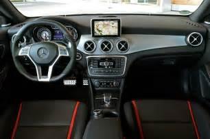 Mercedes 45 Amg Interior 2014 Mercedes Cla45 Amg Drive Photo Gallery