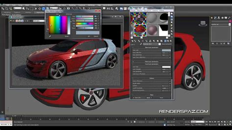 vray sketchup car paint tutorial vray tutorial car decals and paint effects youtube