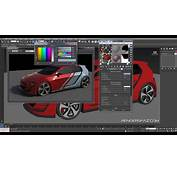 Vray Tutorial Car Decals And Paint Effects  YouTube