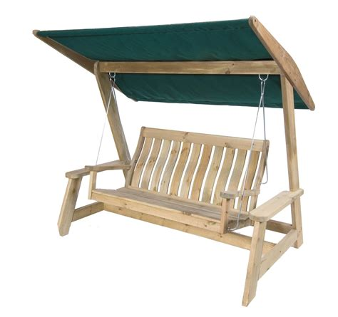 canopy for swing seat alexander rose pine farmers swing seat with canopy