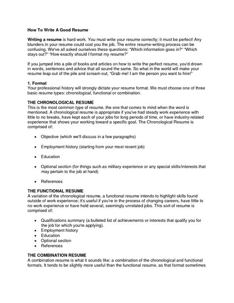 How To Write A Resume Best Templatewriting A Resume Cover Letter Exles Cover Latter Sle How To Write Work Template