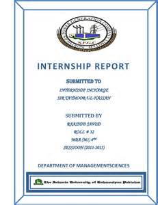Sample Internship Reports Internship Report Of Genco 3 Wapda Muzafar Garh