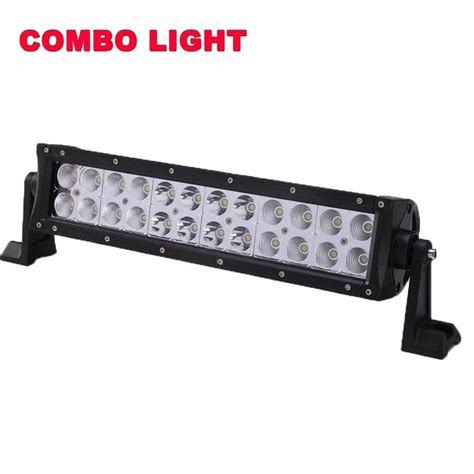 Neon Led Lights 14inch 72w Cree Led Light Bar Flood Spot Flood Led Light Bar