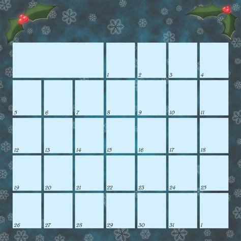 2015 advent calendar printable template advent calendar 2010 blank by lugidog on deviantart