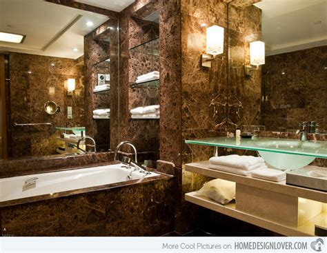 Simple brown bathroom designs brown bath 2