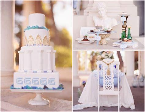grecian themed wedding decor grecian wedding on wedding