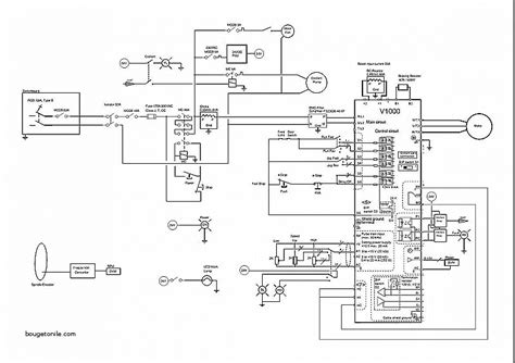 yaskawa v1000 wiring diagram unique 3 phase ac drive