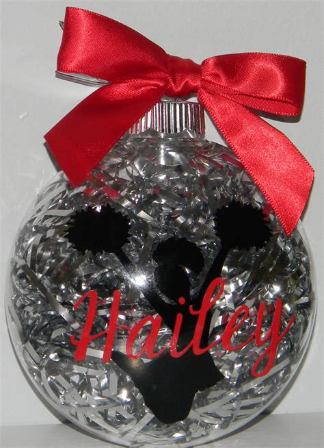 personalized christmas ornament cheerleader cheer coach gift