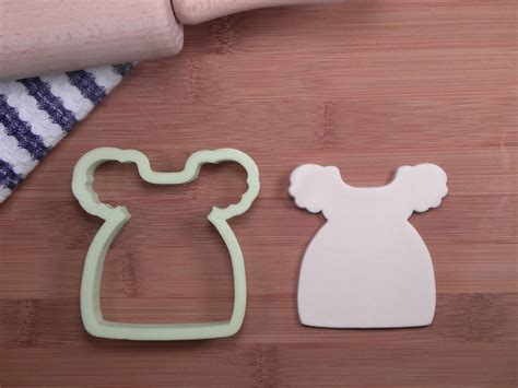 Baby Shower Cookie Cutter by Babydoll Dress Cookie Cutter Baby Shower Cookie Cutter 3d