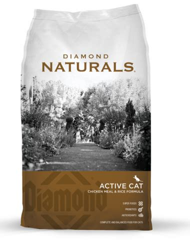 diamond naturals lamb rice lite 30 lb dry dog food 916136 diamond naturals active cat chicken meal and rice formula