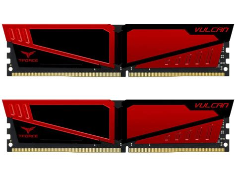 Memory Ram Team Vulcan Series Ddr4 16gb 2x8gb Murah 3 team t vulcan ddr4 2400 desktop memory moudle 8gbx2 16gb help tech co ltd