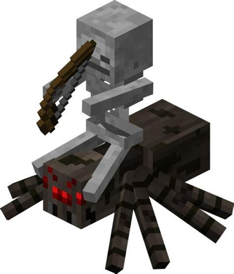 Minecraft Papercraft Spider - papercraft spider jockey minecraft
