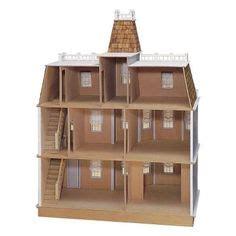 shelburne dollhouse kit marvelous  beautiful