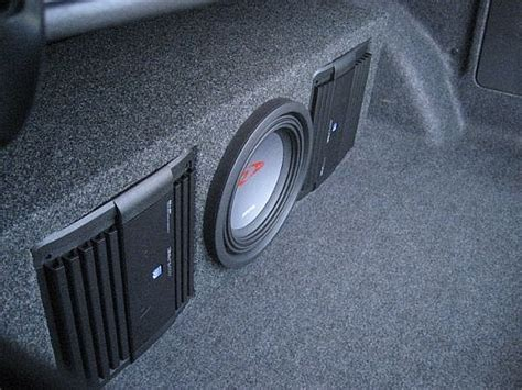 How To Use Car Speakers How To Install A Car Audio Lifier And Subwoofer It