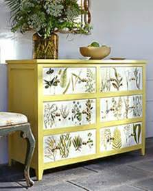 this idea decoupage dresser furniture projects