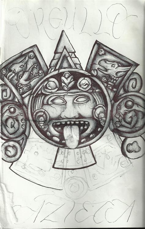tattoo azteca calendario azteca ideas